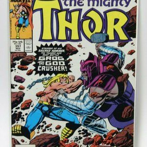 """The Mighty Thor No. 397"""" Comic Book Collectible"""